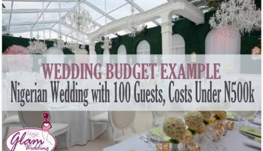 500k wedding
