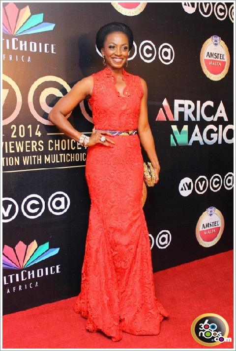 AMVCA 2014 - Kate Henshaw in Needle Point