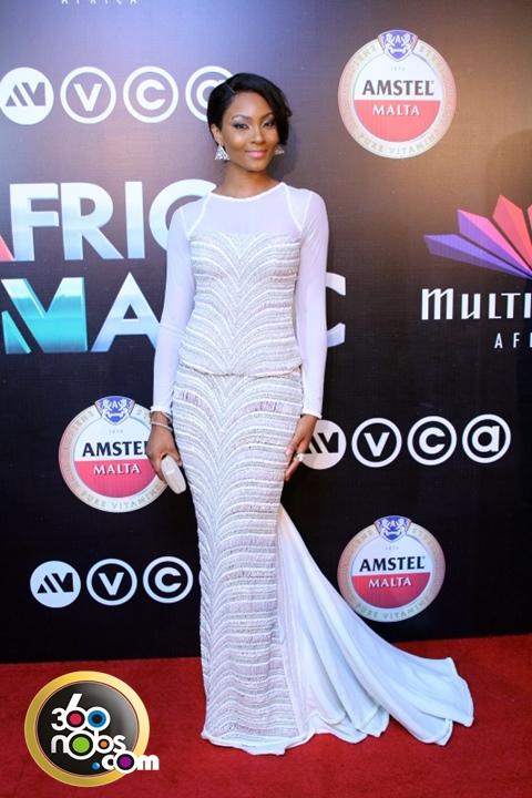 AMVCA 2014 - Osas Ighodaro in Iconic Invanity