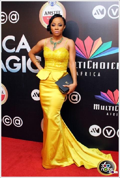 AMVCA 2014 - Toke Makinwa