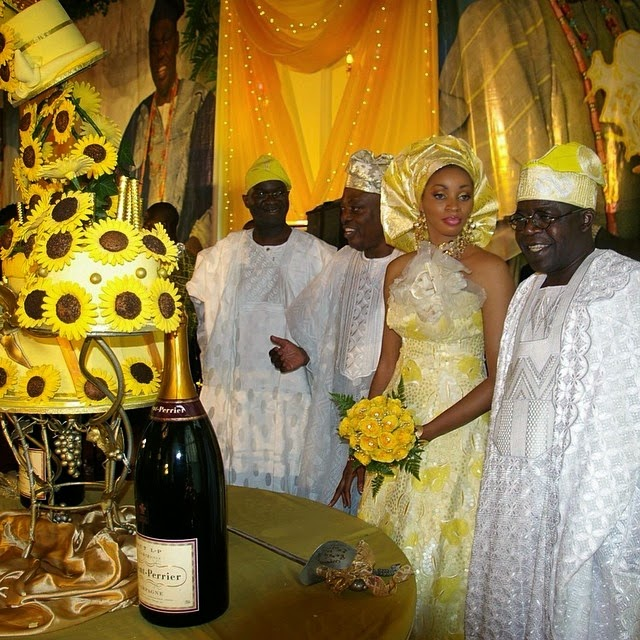 Chief Razak Okoya and Sade Okoya Renew Wedding Vows - 4