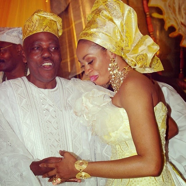 Chief Razak Okoya and Sade Okoya Renew Wedding Vows