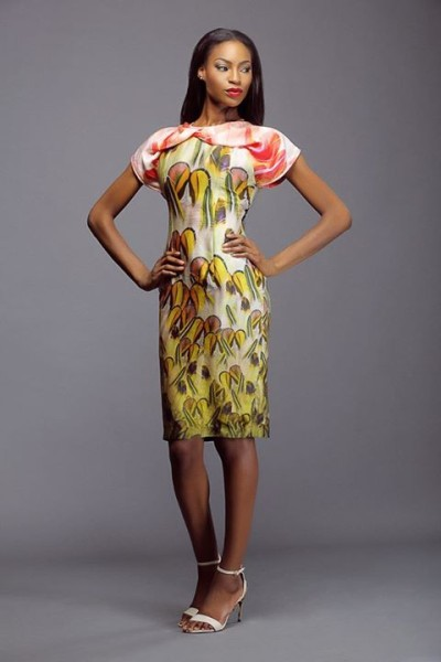 Lanre Da Silva Ajayi Colour Storm Collection Lookbook 2014 - 1