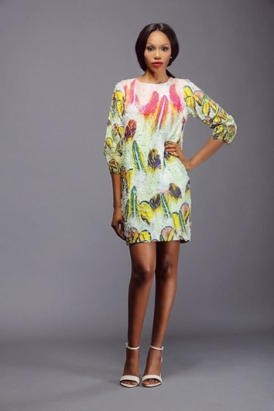 Lanre Da Silva Ajayi Colour Storm Collection Lookbook 2014 - 2