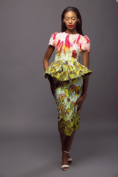Lanre Da Silva Ajayi Colour Storm Collection Lookbook 2014 - 3