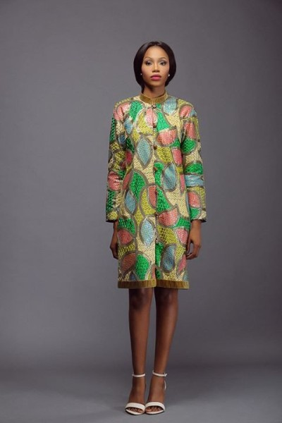 Lanre Da Silva Ajayi Colour Storm Collection Lookbook 2014 - 4