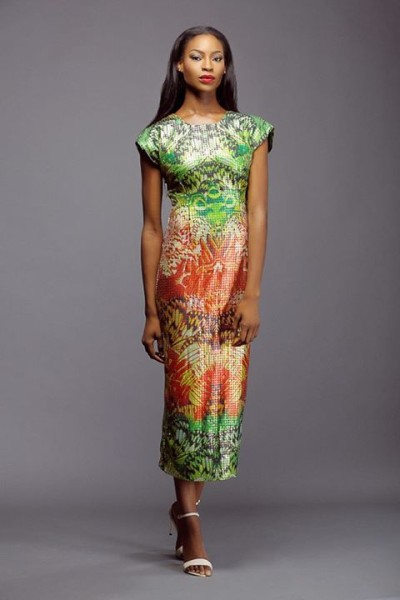 Lanre Da Silva Ajayi Colour Storm Collection Lookbook 2014 - 5