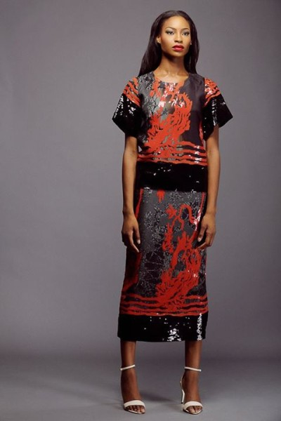 Lanre Da Silva Ajayi Colour Storm Collection Lookbook 2014 - 7