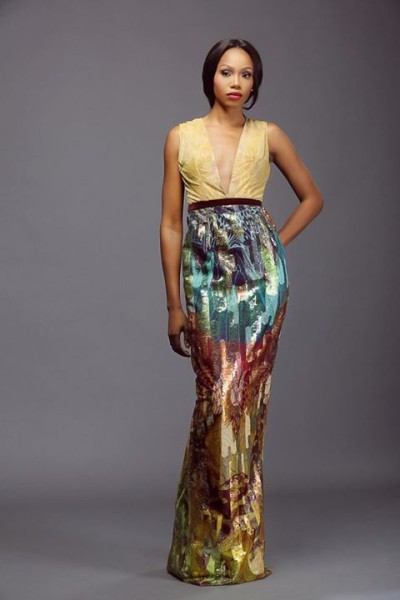 Lanre Da Silva Ajayi Colour Storm Collection Lookbook 2014 - 8