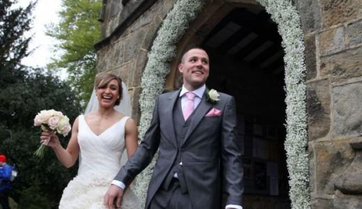 Loveweddingsng Jessica Ennis weds Andy Hill1