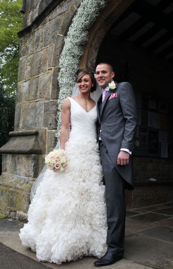 Loveweddingsng Jessica Ennis weds Andy Hill10