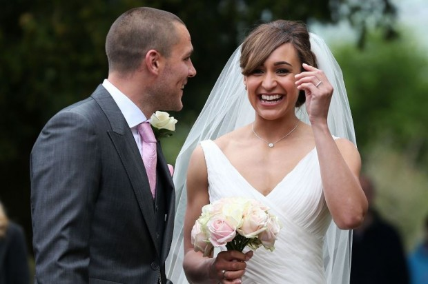 Loveweddingsng Jessica Ennis weds Andy Hill5