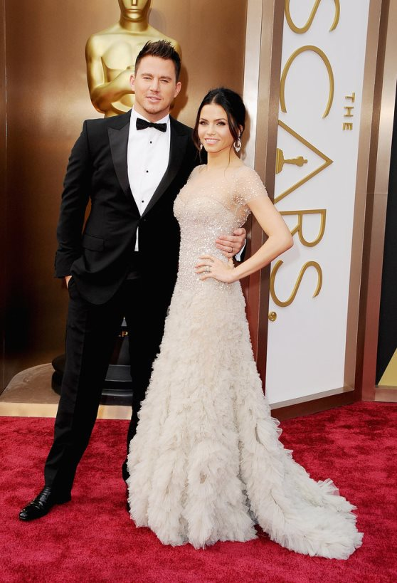 Oscars 2014 - Jenna Dewan and Channing Tatum