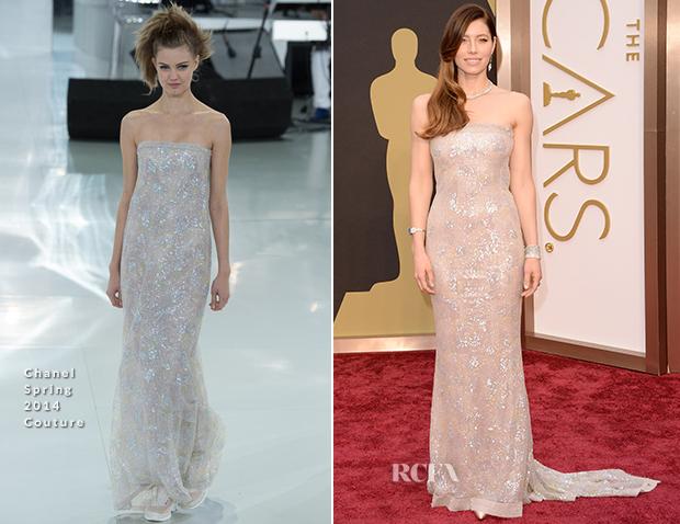 Oscars 2014 - Jessica Biel