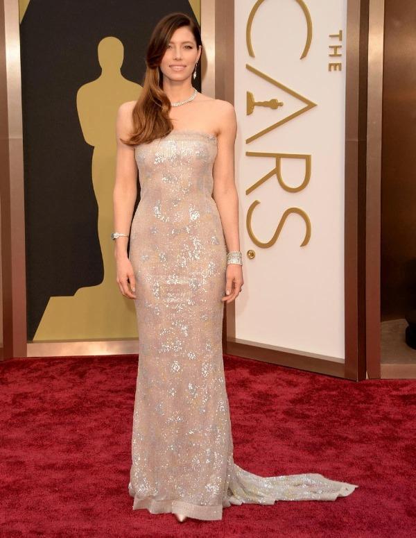 Oscars 2014 - Jessica Biel1