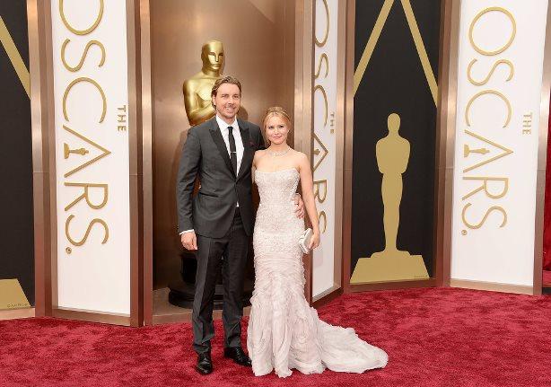 Oscars 2014 - Kristen Bell and Dax Shepard