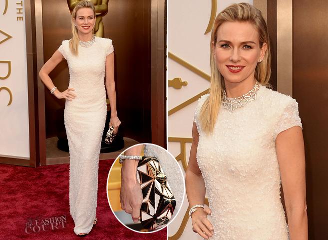 Oscars 2014 - Naomi Watts in Calvin Klein