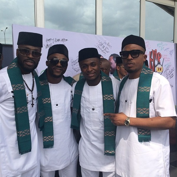 Paul Okoye and Anita Isama Traditional Wedding - Killz – Ikechukwu, Iyanya, Ubi Franklin, Naeto C