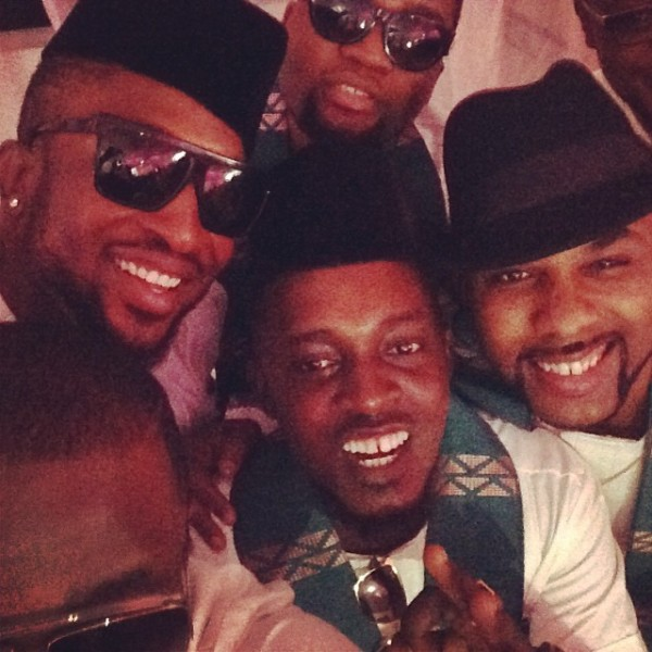 Paul Okoye and Anita Isama Traditional Wedding - MI, Darey, Banky W