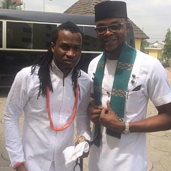 Paul Okoye and Anita Isama Traditional Wedding - The groom Paul Okoye and Olamiju Alao-Akala