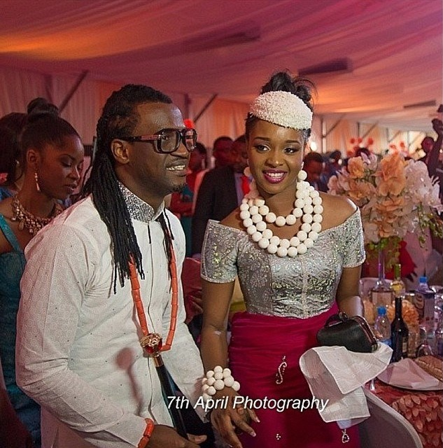 Paul Okoye and Anita Isama Traditional Wedding1