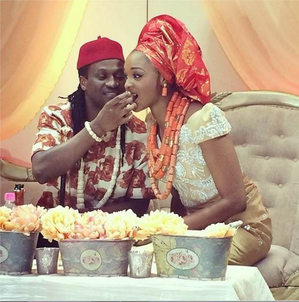 Paul Okoye and Anita Isama Traditional Wedding2