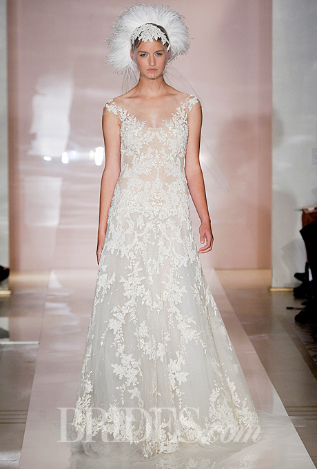 Fall 2014 Wedding Trends - Illusion Cap sleeves Loveweddingsng20
