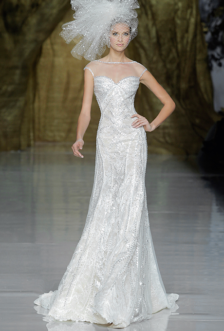 Fall 2014 Wedding Trends - Illusion Cap sleeves Loveweddingsng22