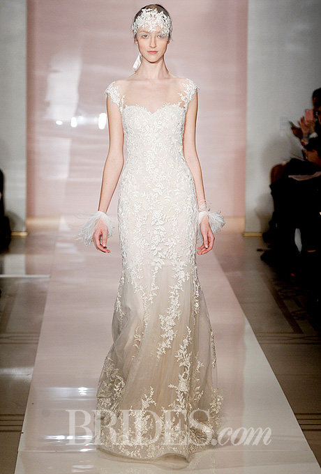 Fall 2014 Wedding Trends - Illusion Cap sleeves Loveweddingsng23