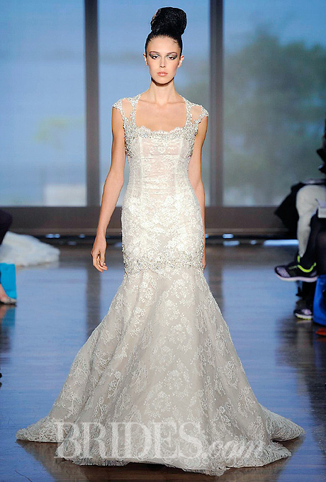 Fall 2014 Wedding Trends - Illusion Cap sleeves Loveweddingsng24