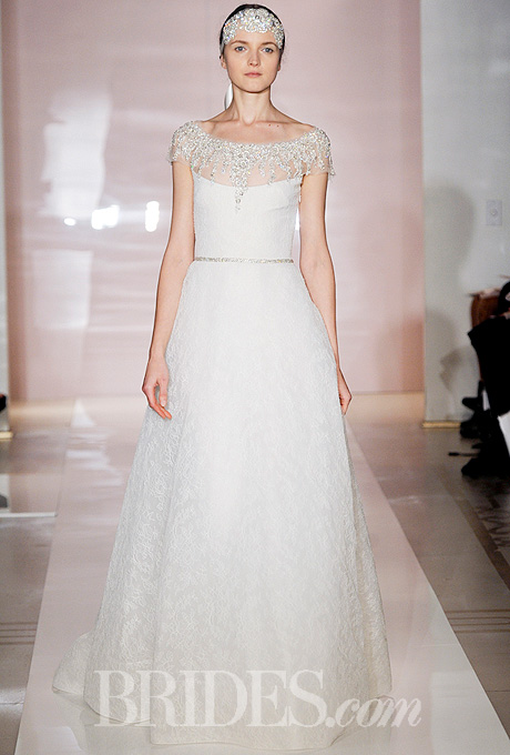 Fall 2014 Wedding Trends - Illusion Cap sleeves Loveweddingsng27