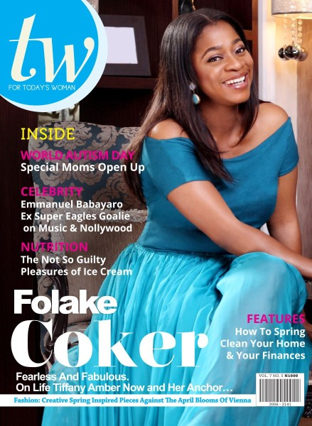 Folake Folarin Coker TW Magazine April 2014 Loveweddingsn