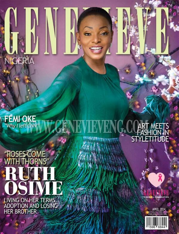Genevieve Magazine Ruth Osime Loveweddingsng