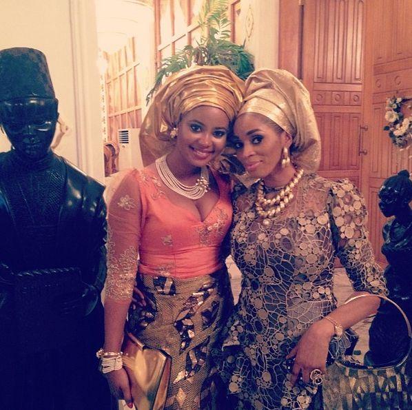Hadiza Okoya weds Olamiju Alao-Akala Introduction Loveweddingsng - Sade Okoya, Omowumi Akinnifesi