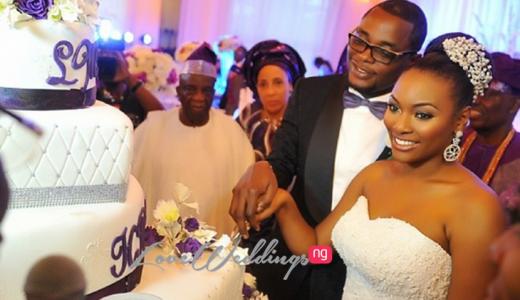 White Wedding: Hadiza Raisa Okoya weds Olamijuwonlo Alao-Akala