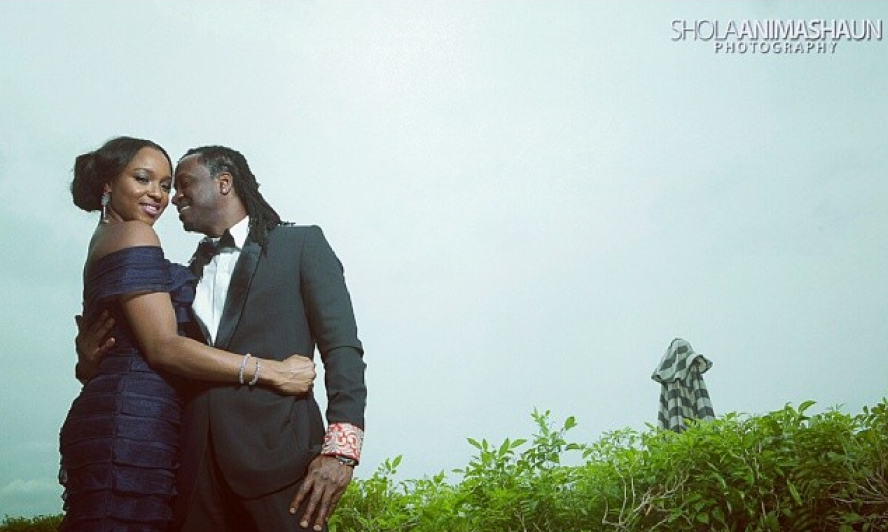 Paul Okoye weds Anita Isama Loveweddingsng4