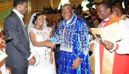 President Jonathan Daughter Faith Sakwe weds Godswill Edward Loveweddingsng9