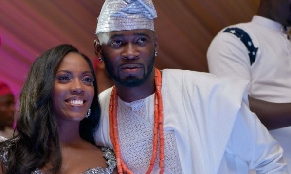 Tiwa Savage Tee Billz Wedding