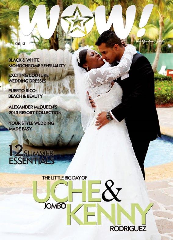 Uche Jombo weds Kenney Rodriguez Loveweddingsng