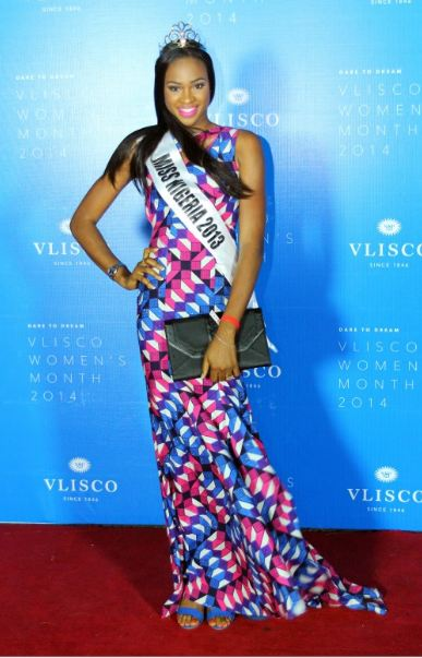 Vlisco Women Month Awards 2014 Loveweddingsng - Ezinne Akudo Miss Nigeria