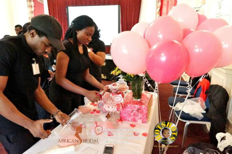 African Bridal Show May 3 2014 Loveweddingsng - Candied Confectionery2