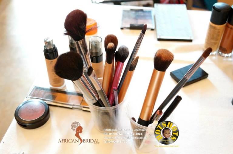 African Bridal Show May 3 2014 Loveweddingsng - makeup