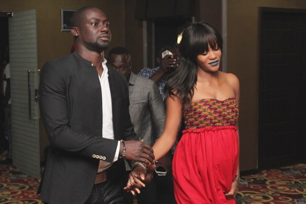 The celebrants - Damilola Adegbite & Chris Attoh