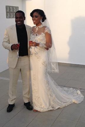 Daisy Danjuma's son weds