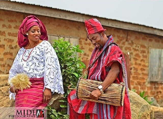 LoveWeddingsng Tribal Prewedding shoot - Mide