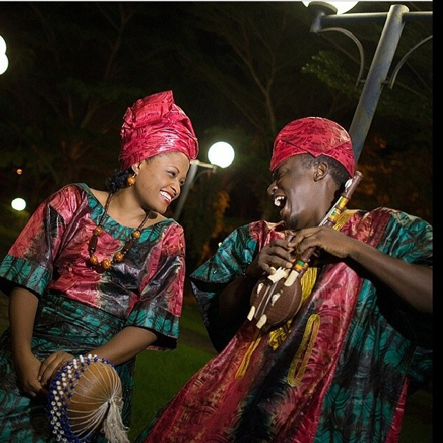 LoveweddingsNG Tribal Prewedding Shoot Picture credit: Olori Olawale Photography