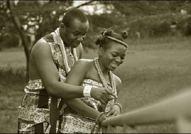 LoveWeddingsng Tribal Prewedding shoot - Think It Photo