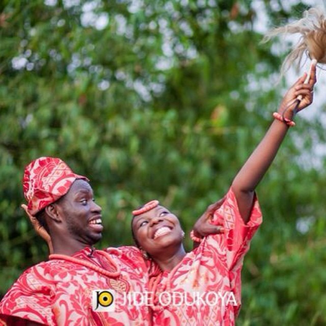 LoveWeddingsng Tribal Prewedding shoot