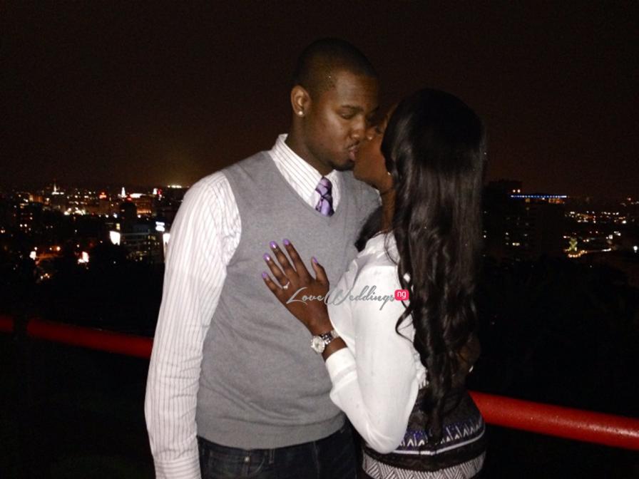 Loveweddingsng Proposal: Joanne and Chris