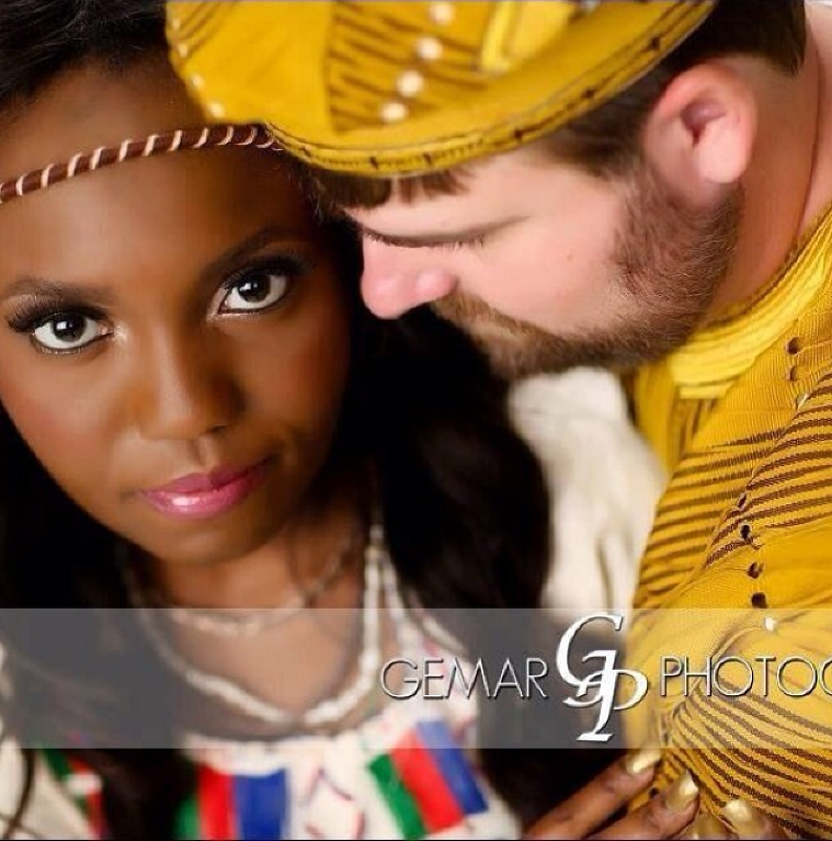 LoveweddingsNG Tribal Prewedding Shoot Picture credit: Gemar Photography
